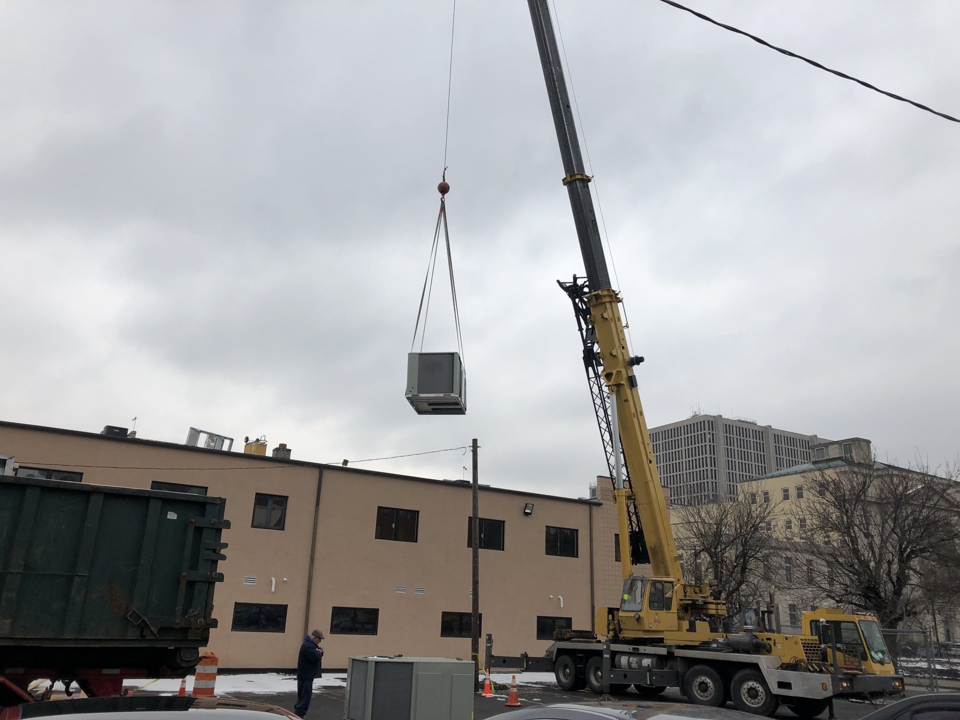 Rooftop 10 Ton Install