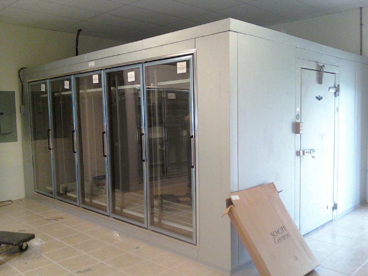 Glass Door Cooler Install