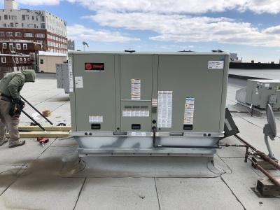 10 Ton Unit Install