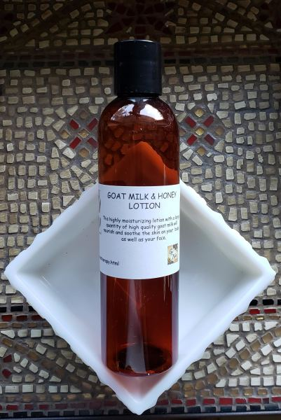 Goat Milk & Honey Lotion