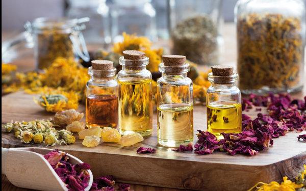 Organic Flower-Infused Oils & Balms