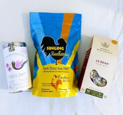 Fair Trade Coffee, Tea, Soup, & Food