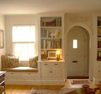 BUILT-INS WITH WINDOW SEAT