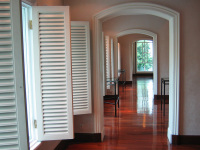 REMODELED INTERIOR WITH ARCHED DOORWAYS