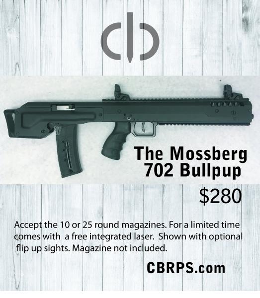 Mossber  702 plinkster bull pup kits