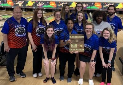 Bartlett - Region 8 Girls Champions