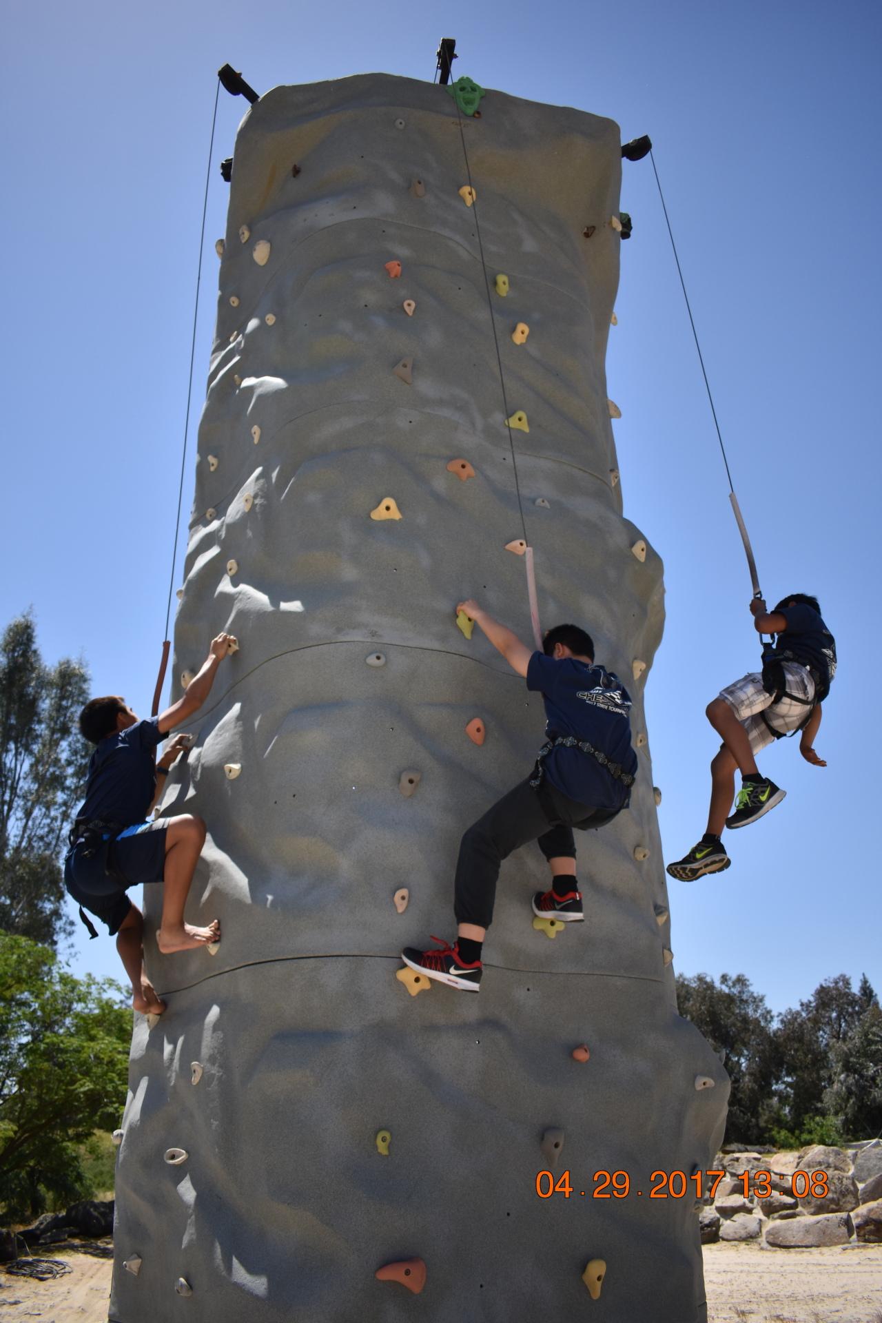 Climb the Giant Rook