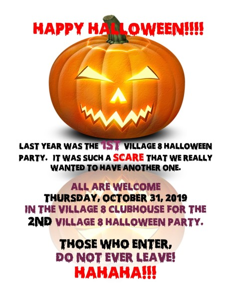Halloween Party - 10-31-19