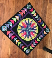 Patricia Eastman's Geese Around the Compass quilt