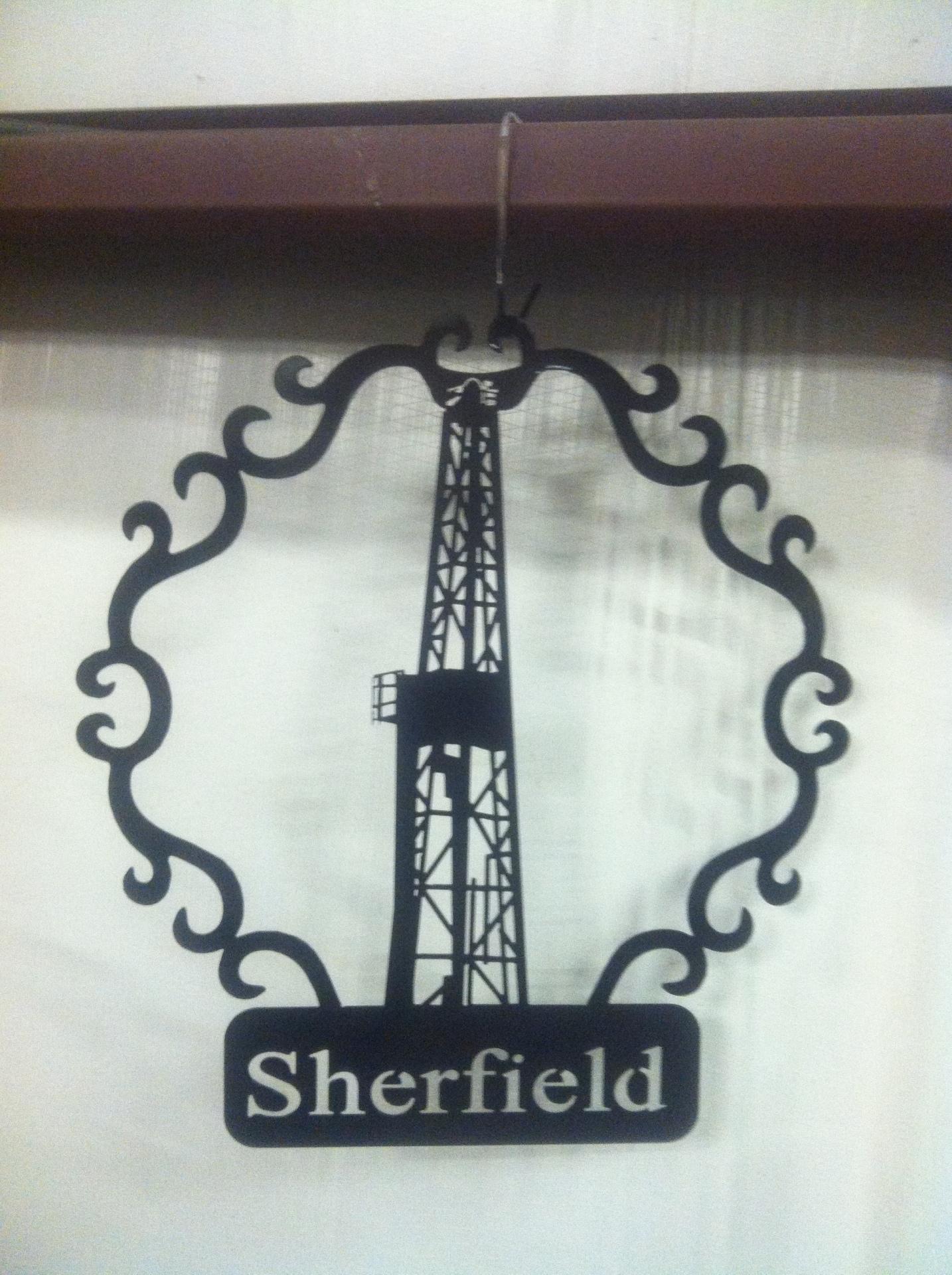 Oilfield Sign