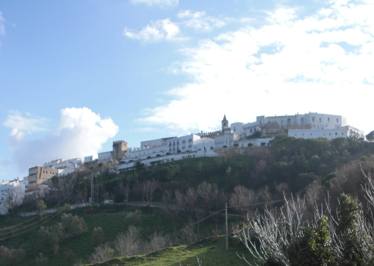 The hilltop village of Vejer