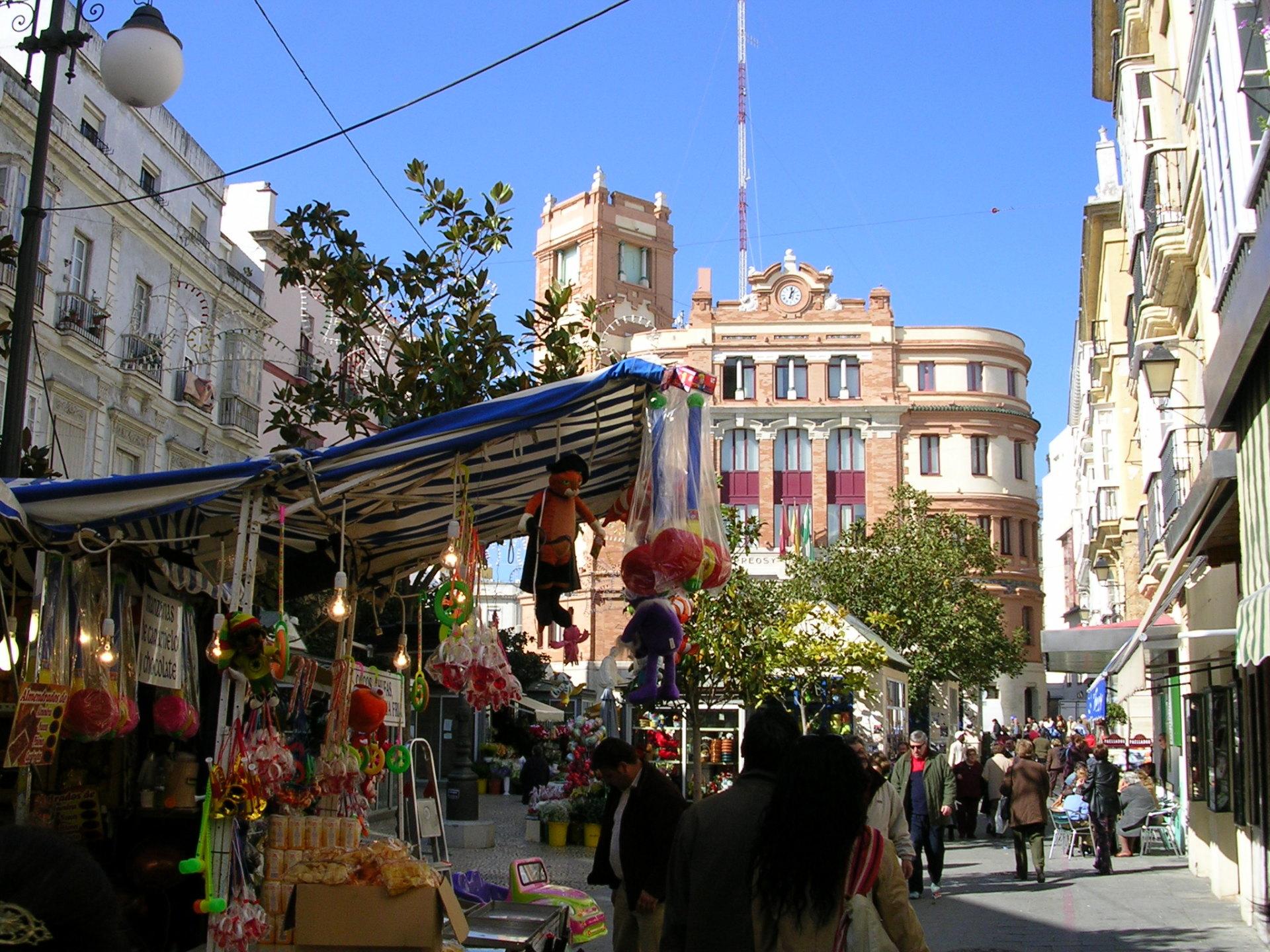 Plaza de Flores, Cadiz
