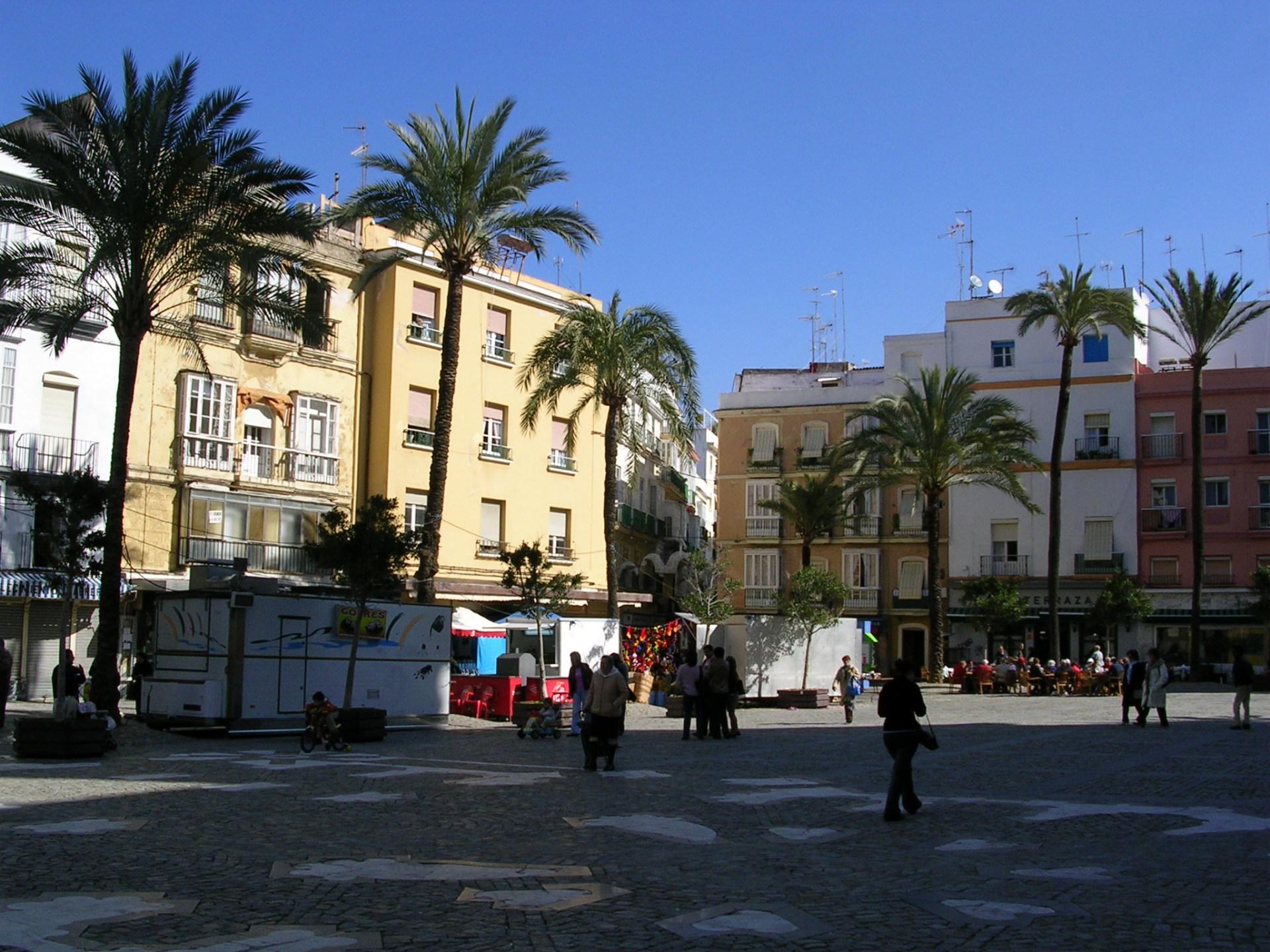 Plaza de Juan de Dios, Cadiz