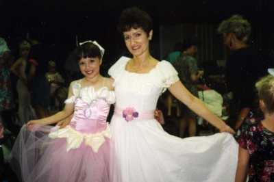 Dance center founder Bonnie and owner Tina Jackson
