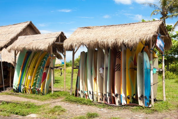 Surfboard Storage Hut