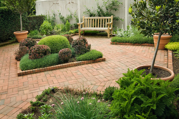 Mulching, trimming shrubs/plants, mowing, edging and blowing