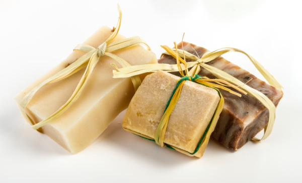 Specialty Olive Oil Soaps Soaps contain turmeric, comfrey leaf, clays, coffee