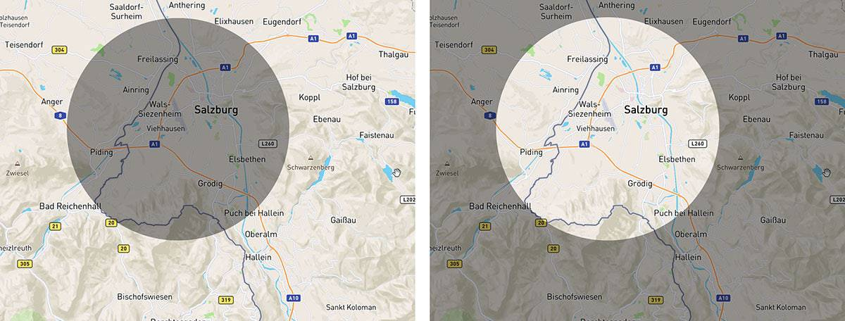 Geo-push: A push notification sent to people inside or outside a geographic boundary.