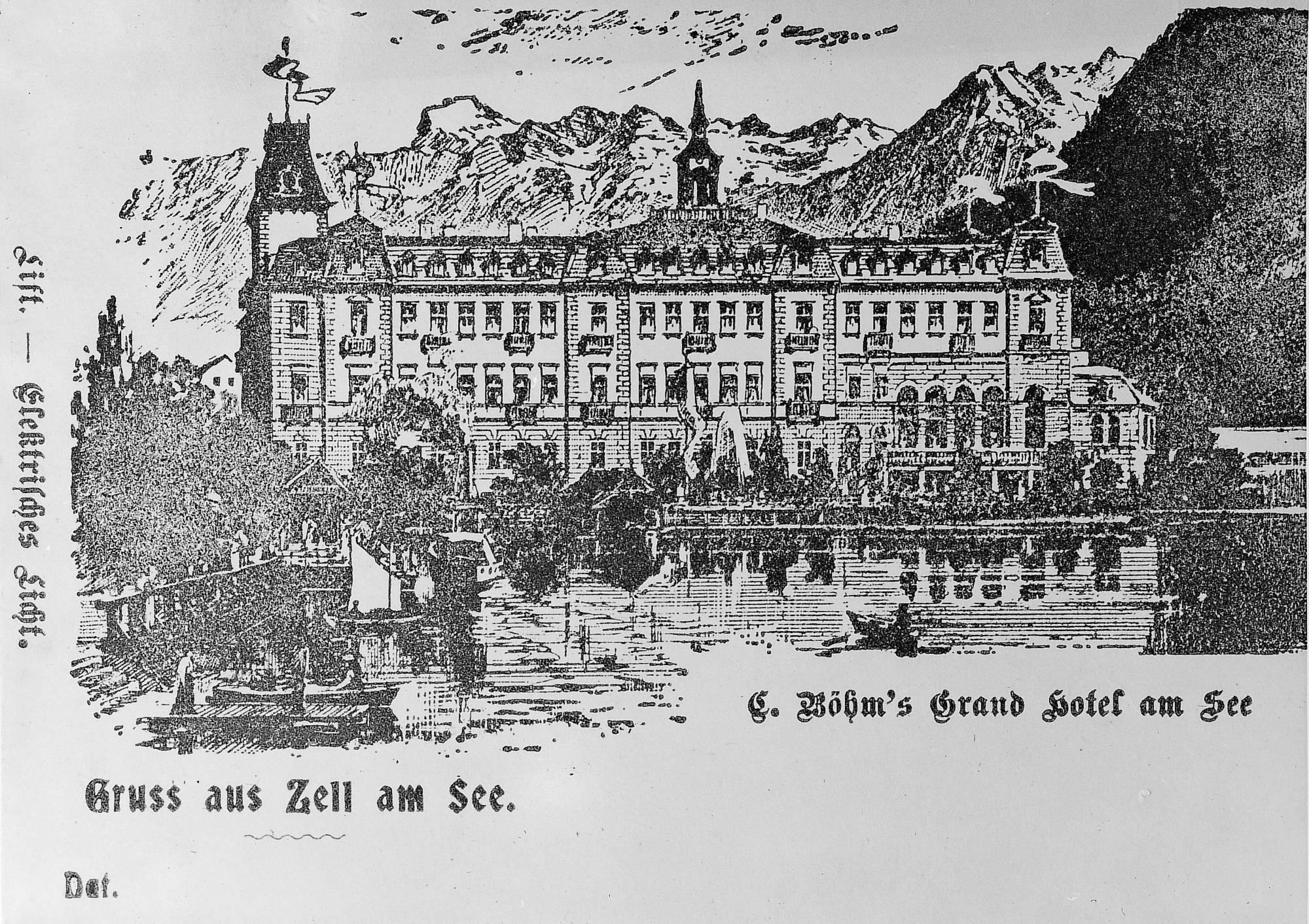 Böhm's Grand Hotel 1896