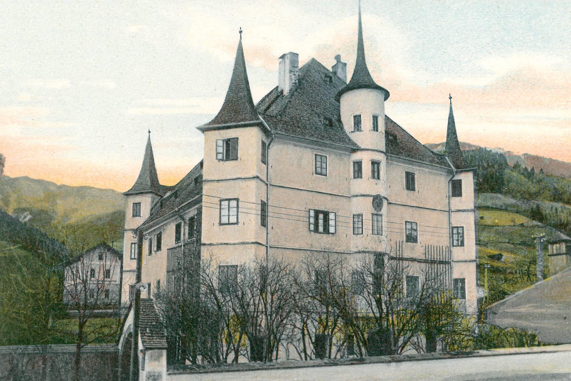 Rosenberg Castle before World War I
