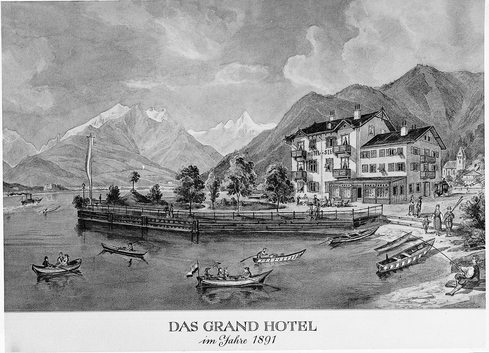 The Grand Hotel in 1891