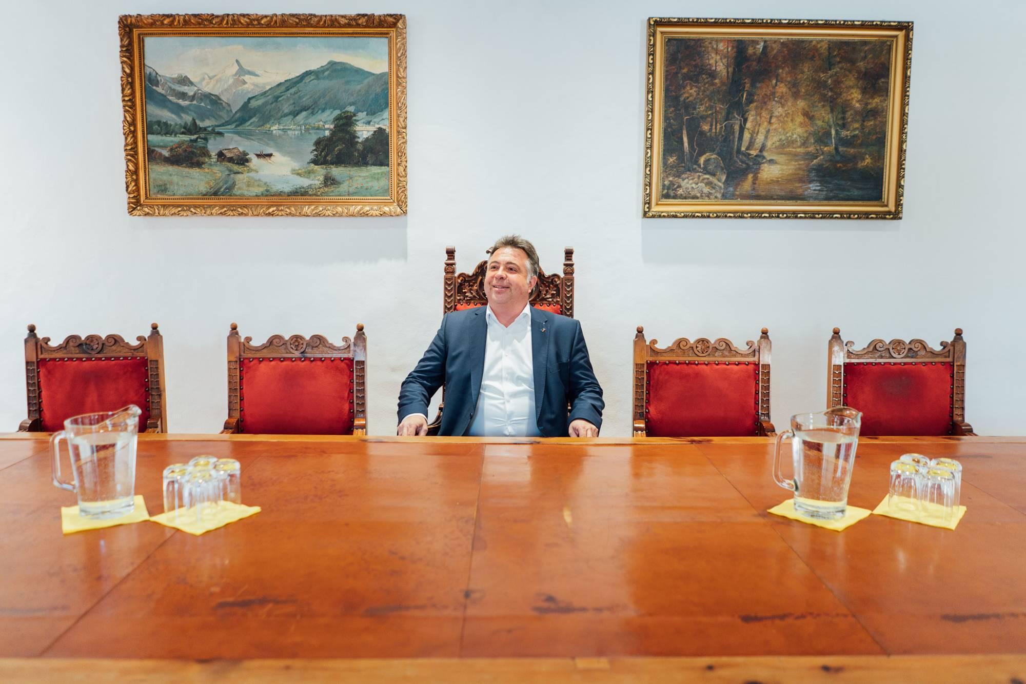 Peter Padourek former Mayor of Zell am See