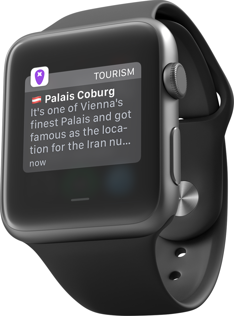 ... and on all smart watches.