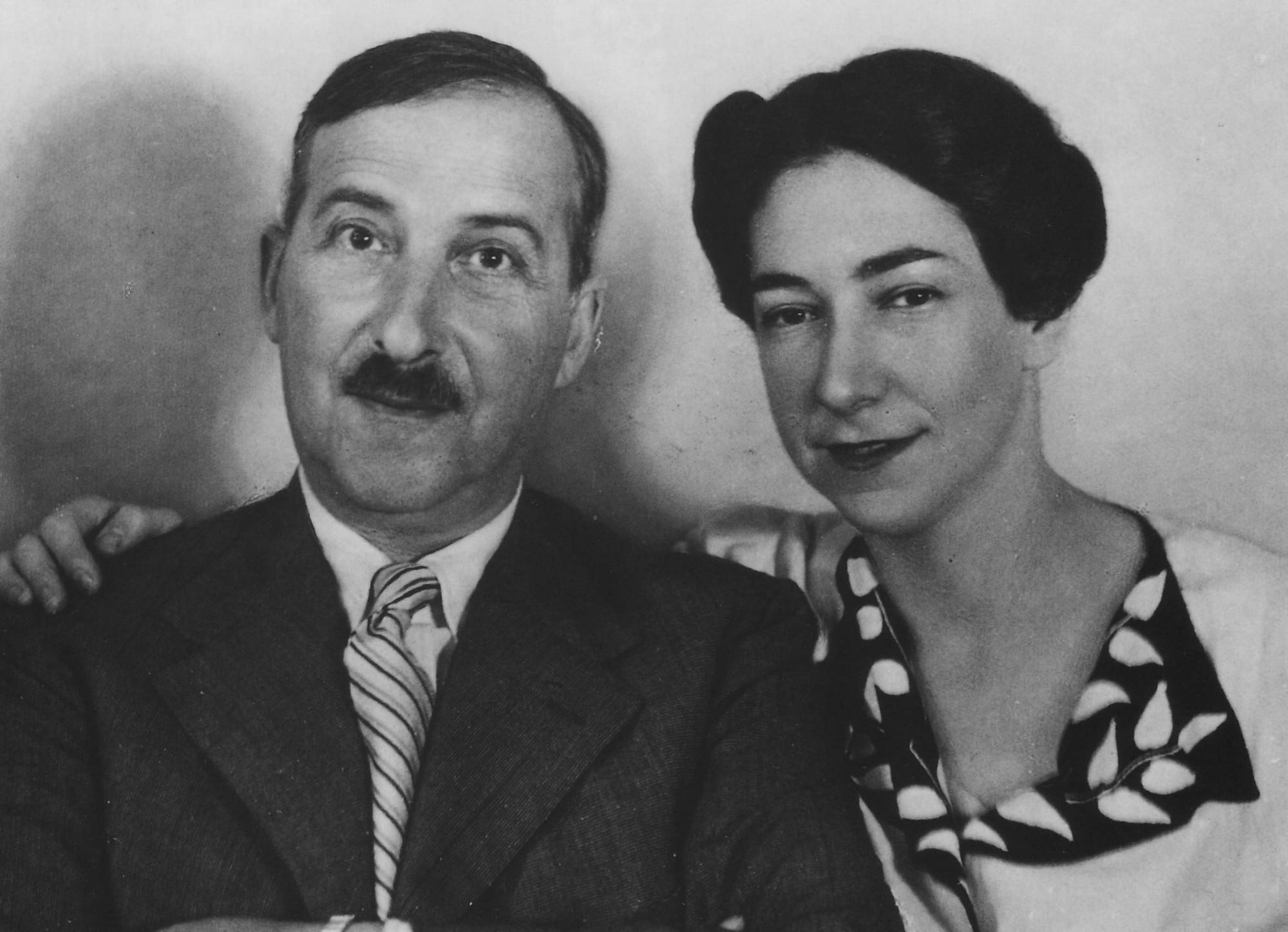Stefan Zweig and Lotte Zweig-Bath