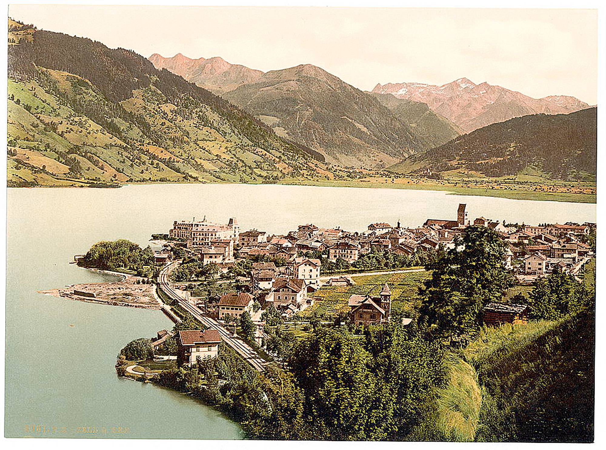 Zell am See at around 1900