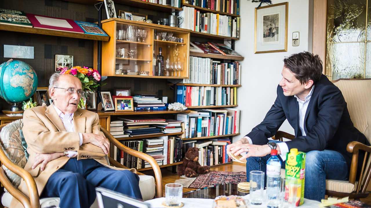Thomas Cik im Gespräch mit Heinz Stritzl