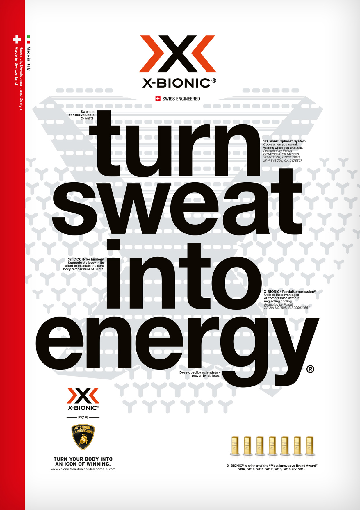 TURN SWEAT INTO ENERGY