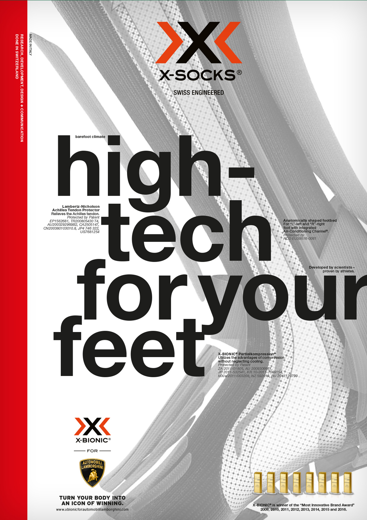 Hightech for your feet