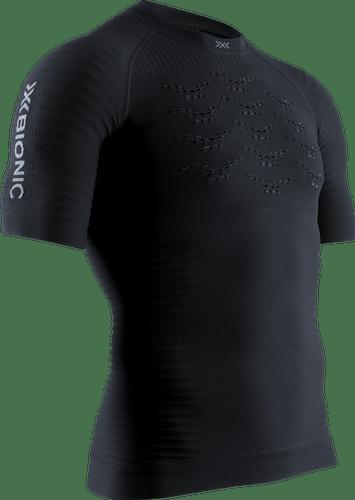 X-BIONIC® EFFEKTOR® RUN SHIRT 4.0 SH SL MEN - men (Opal Black / Arctic White, L).