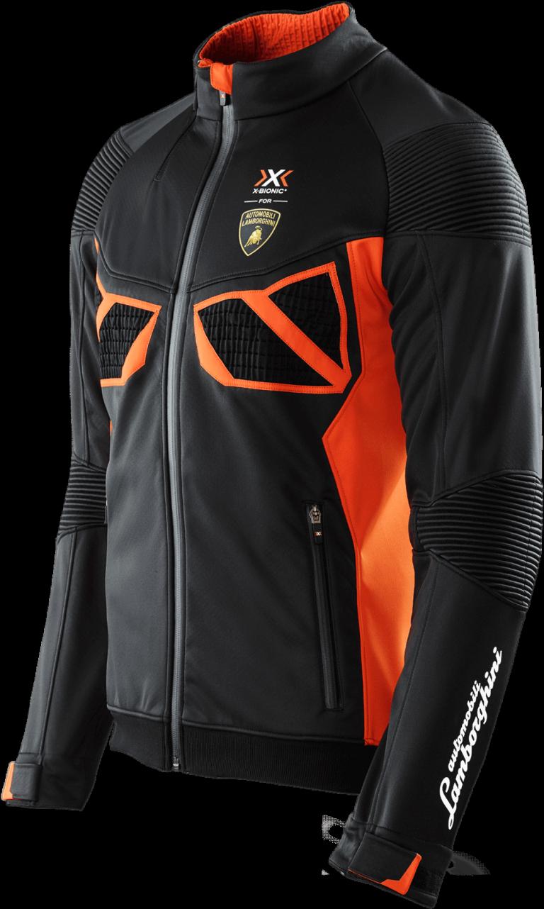 X Bionic For Automobili Lamborghini Freeride Equilibrate Jacket