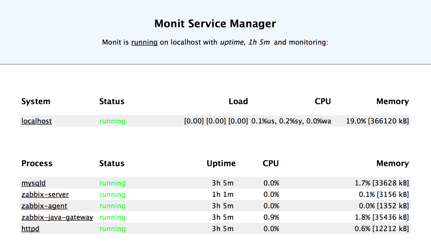 Bootstrapping and monitoring multiple processes in Docker using