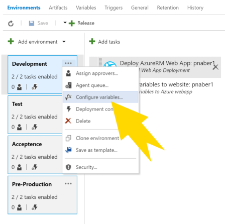 VSTS Task to deploy AppSettings and ConnectionStrings to an Azure