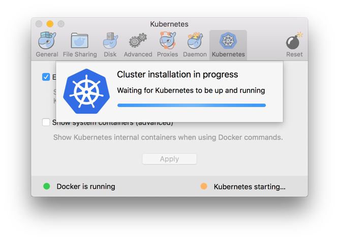 Running Kubernetes locally with Docker on Mac OS X — Xebia Blog