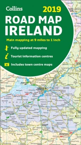 2019 Collins Map of Ireland
