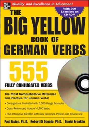Big Yellow Book of German Verbs (Book w/CD-ROM)