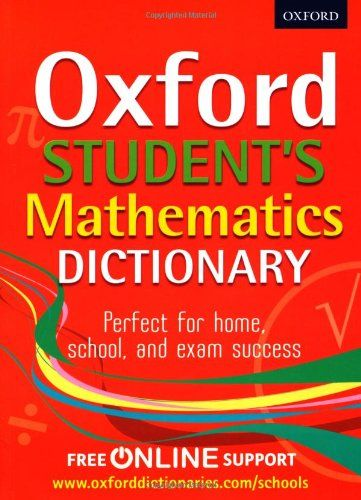 Oxford Student's Mathematics Dictionary