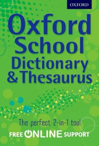 9780192756916 image Oxford School Dictionary & Thesaurus