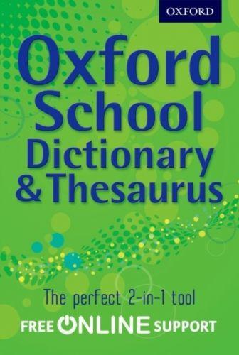 9780192756923 image Oxford School Dictionary & Thesaurus