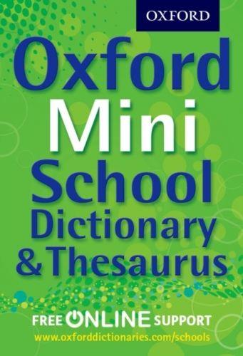 9780192756978 image Oxford Mini School Dictionary & Thesaurus