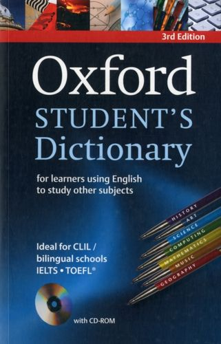 9780194331357 image Oxford Student's Dictionary Paperback with CD-ROM
