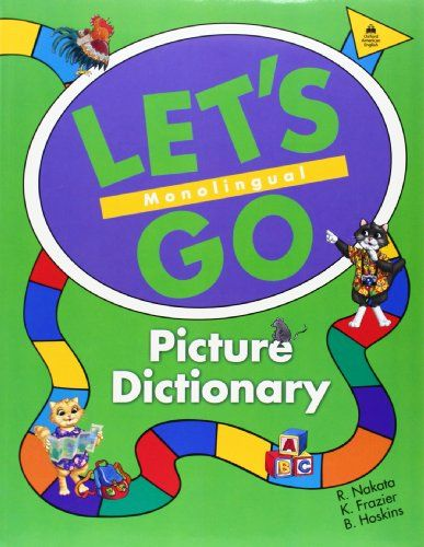 9780194358651 image Let's Go Picture Dictionary: Monolingual English Edition