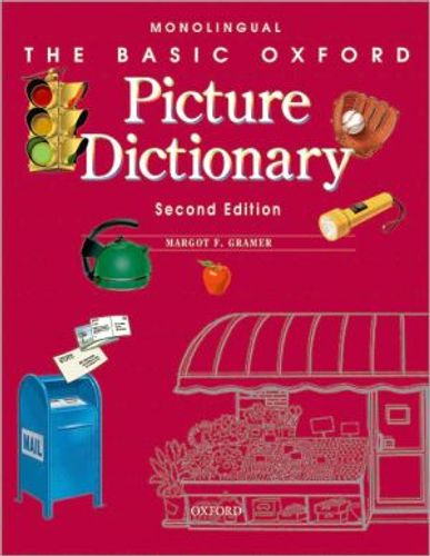 9780194372329 image Basic Oxford Picture Dictionary, Second Edition:: Monolingual English