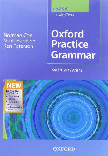 9780194579780 image Oxford Practice Grammar Basic: With Key Practice-Boost CD-ROM Pack