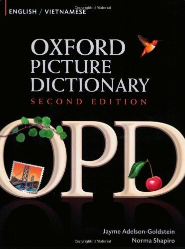 9780194740197 image Oxford Picture Dictionary Second Edition: English-Vietnamese Edition