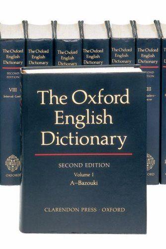 9780198611868 image Oxford English Dictionary
