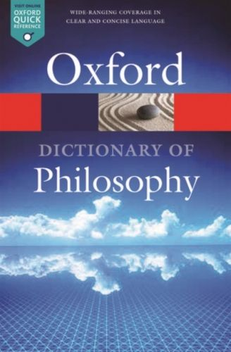 9780198735304 image Oxford Dictionary of Philosophy